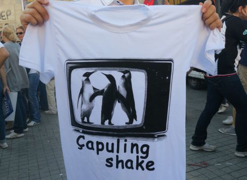 T shirt, Taksim Square, Istanbul  (Photo: Dalia Mortada)