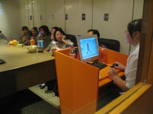 A Mafia game in China (Photo courtesy of Silvia Lindtner)
